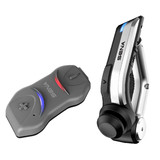 Sena 10R SINGLE pack Low Profile Bluetooth Communication w Handlebar Remote