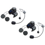 Sena SMH10 DUAL with UNIVERSAL Mic Motorcycle Bluetooth Headset/Intercom