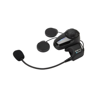 Sena SMH10 SINGLE with BOOM Mic Motorcycle Bluetooth Headset & Intercom